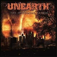 UNEARTH The Oncoming Storm Sticker NEW OFFICIAL MERCHANDISE RARE Heavy Metal