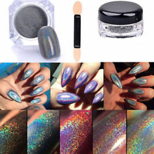 2g Holographic Nagel Pigment Puder Pulver Mirror Powder Nail art Chrome Pen