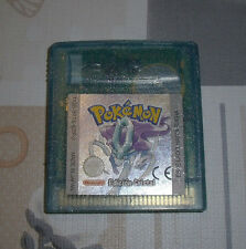 "GAME BOY COLOR ""POKEMON EDICION CRISTAL"" PAL ESPAÑA"