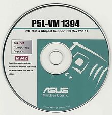 ASUS P5L-VM 1394 Motherboard Drivers Installation Disk M942