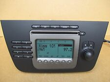 Seat ALTEA TOLEDO  Radio Stereo CD Player +CODE 5P2035152 1MM Genuine
