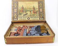 Antique F. AD.RICHTER Anchor Blocks Set 7B Set of Building Blocks Ca. 1900s