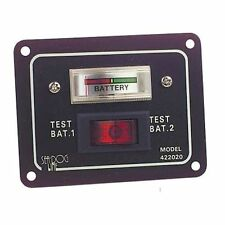 Aluminium Battery Test Switch Panel - 64mm x 83mm