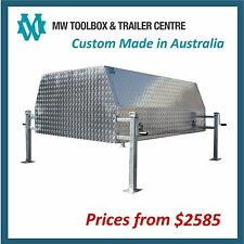 ALUMINIUM CANOPY for Extra Cab Utes - Custom Made to Order