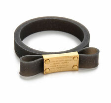 NEW Marc by Marc Jacobs Bracelet Jelly Bow Bangle Black