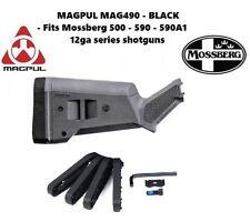 Magpul 490-BLK SGA Shotgun Stock for Mossberg 500 590 590A1 - BLACK - NEW