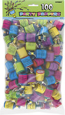 Party Poppers x100 Table Favours