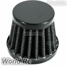15 mm BLACK CONE MINI OIL AIR INTAKE CRANKCASE VENT VALVE COVER BREATHER FILTER