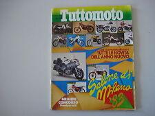 TUTTOMOTO 12/1983 APRILIA TR 320/HONDA VT 500/VF 750 S/YAMAHA XZ 550/KAWASAKI Z