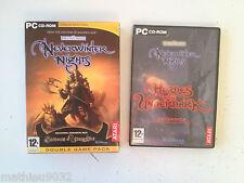 Neverwinter Nights 1 Forgotten Realms + 2 extensions undrentide/underdark PC FR