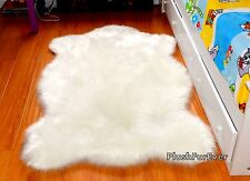 new white sheepskin nursery rug plush baby boy girl area throw rug new luxury