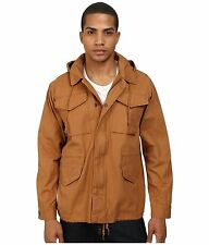 Obey Men's Military M-65 Field Jacket Iggy Bone Brown Size L NWT Shepard Fairey