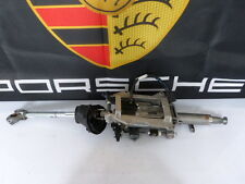 Porsche Panamera 970 Steering column Casing pipe Pitman arm shaft+Control unit