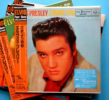 Elvis Presley , Loving You ( Japanese Paper Sleeve Mini Vinyl LP Replica CD )