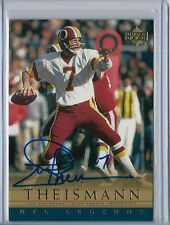 Joe Theismann 2000 UD Upper Deck NFL Legends Gold Auto Redskins Card SP /25