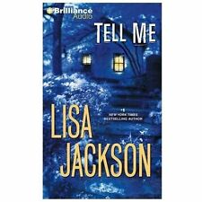 Book on CD-Tell Me by Lisa Jackson (2013, Abridged)