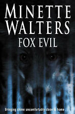 "Fox Evil, Minette Walters, ""AS NEW"" Book"