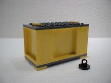 LEGO® Eisenbahn Container gelb für 3677, 7898, 7938, 7939, 60052 - NEU