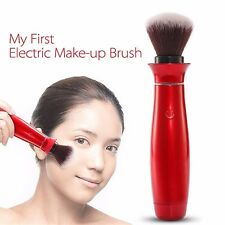 Electric Makeup Blush Brush Cosmetic 360 Rotating Battery Operate Makeup Brushes