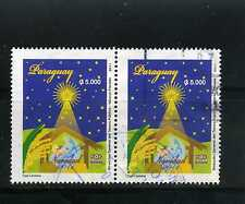 CHRISTMAS OF PARAGUAY ,pair hor.  2011   USED