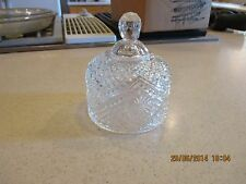 Fostoria  Avon Pressed Glass Butter Dish Dome Lid Only