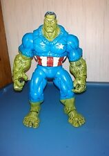 Marvel legends scale custom hulk captain america WOW