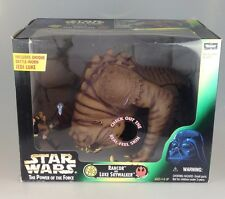 Star Wars Power Of The Force - Potf Scarce Luke Skywalker & Rancor Boxed Set