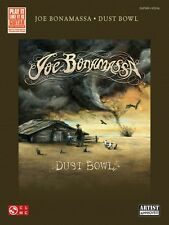 Joe Bonamassa Dust Bowl Sheet Music Play It Like It Is Book NEW 002501720