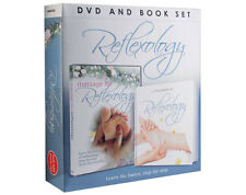 Reflexology Book And DVD Set Massage Technique Teach Learn Read Watch Therapy