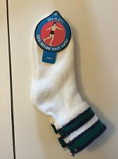 terry turn cuff girls action sport socks cotton/poly vtg deadstock size 6-8.5