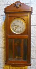 Antik-Junghans-Regulator-wanduhr-Uhr Wandpendeluhr mit Aufziehschlüssel