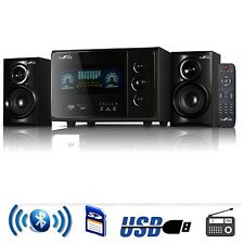 NEW BeFree 2.1 CHANNEL SURROUND SOUND BLUETOOTH SPEAKER SYSTEM USB/SD/FM BLACK