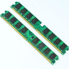 2GB 2x1GB PC2 4200 DDR2 533 533MHZ Desktop-Speicher 240pin RAM DIMM 1024MB DDR2