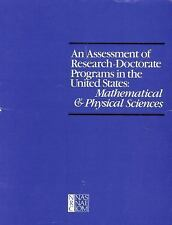 An Assessment of Research-Doctorate Programs in the United States: Mat-ExLibrary