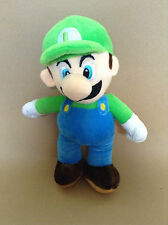 Super Mario Plush Teddy - Luigi Soft Toy - Size:25cm - NEW FREE POSTAGE
