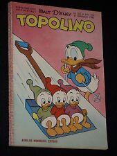 ***TOPOLINO NUMERO 321*** ED. MONDADORI 21 GENNAIO 1962 !!!