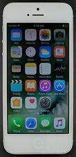 Apple iPhone 5 A1428 16GB *AT&T Only* iOS Smartphone Cellphone SILVER *FAIR*