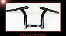 "9"" MINI HELLBENT MONKEY BARS CUSTOM APEHANGERS FOR HARLEY SPORTSTERS AND BOBBERS"