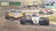 1982b WILLIAMS-COSWORTH 08 DIJON-PRENOIS F1 Cover signed KEKE ROSBERG