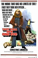 THEY CALL HER ONE EYE Movie POSTER 11x17 Christina Lindberg Heinz Hopf Despina