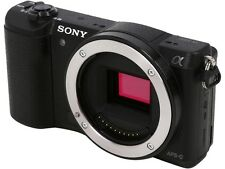 "SONY Alpha a5100 ILCE-5100/B Black 24.3 MP 3.0"" 921.6K Touch LCD Mirrorless Came"