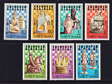 VIETNAM 1983 SC # 1290-1296 THE CHESS PIECES  COMPLETE SET OF 7  MNH