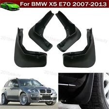 4Pcs Car Mud Flaps Splash Guard Fender Mudguard Mudflap For BMW X5 E70 2007-2013