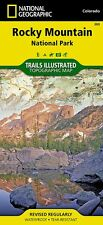 Rocky Mountain National Park National Geographic Topo Trail Map Waterproof