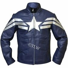 Captain America: The Winter Soldier New Avenger Chris Evans FAUX Leather Jacket