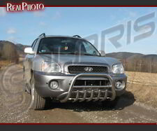 HYUNDAI SANTA FE 2001-2005 BULL BAR,NUDGE BAR +GRATIS!!! STAINLESS STEEL SANTAFE