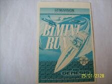 BIMINI RUN Genesis Vidpro Card