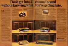 1973 vintage ad for Panasonic 4 Channel sound system  -021712