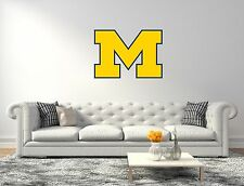Michigan Wolverines NCAA Football Wall Decal Vinyl Sticker For Room Home Car