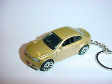NEW 3D BMW 1M CUSTOM KEYCHAIN keyring key GOLD racing finish M series RACE